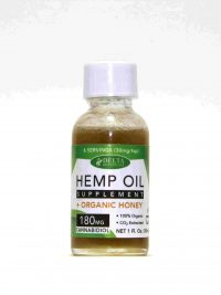 Hemp Oil Honey_ 180mg Full Spectrum CBD_ 1oz Bottle