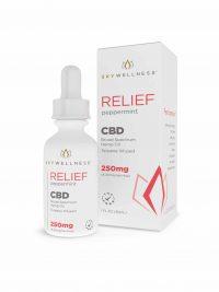 Sky Wellness-cbd relief tincture-250mg