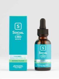 Social CBD Broad Spectrum Oil Drops