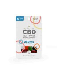 Sky Wellness_CBD Gummies_250mg_fruit flavors