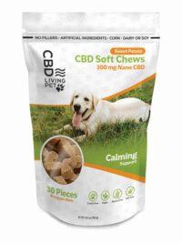 CBD Living Dog Chews Sweet Potato