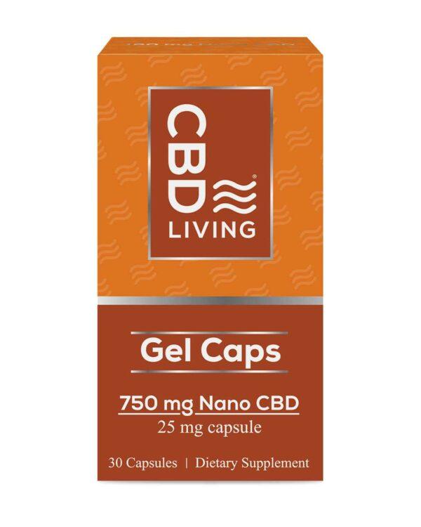 CBD Living Gel Capsules 750 Mg