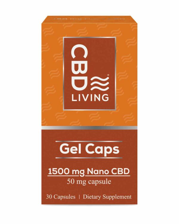 CBD Living Gel Capsules 1500 Mg