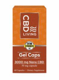 CBD Living Gel Capsules 3000 Mg