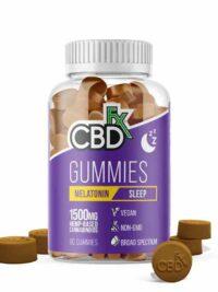 CBDFX - CBD Gummies with Melatonin for Sleep
