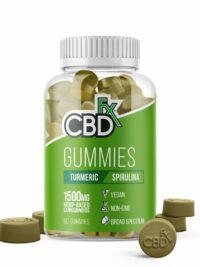 CBDFX - CBD Gummy Turmeric and Spirulina