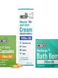 CBDFX CBD Recovery Set