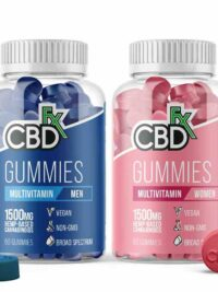 CBDFx - Multivitamin CBD Gummies For Women & Men
