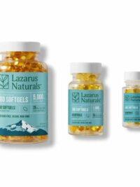 Lazarus Naturals 25 Mg CBD Softgels