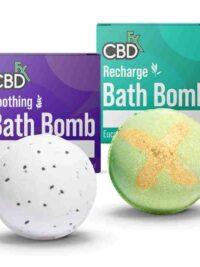 CBDFX -CBD Bath Bombs Soothing _ Recharge