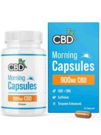 CBDFX - CBD + CBG Morning Capsules For Energy & Focus