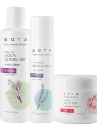 Bota Skin CBD-Holiday Glow Skincare Set
