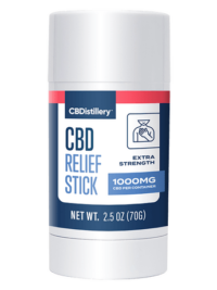 CBDistillery-Isolate CBD Relief Stick 1000mg