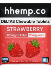 HH DELTA8 125mg CHEWABLE TABLETS