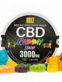 Bolt CBD - Fruit Flavored Gummy Bears 3000mg
