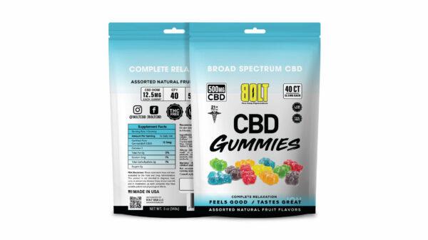 Bolt CBD - Gummy Bag – 500mg