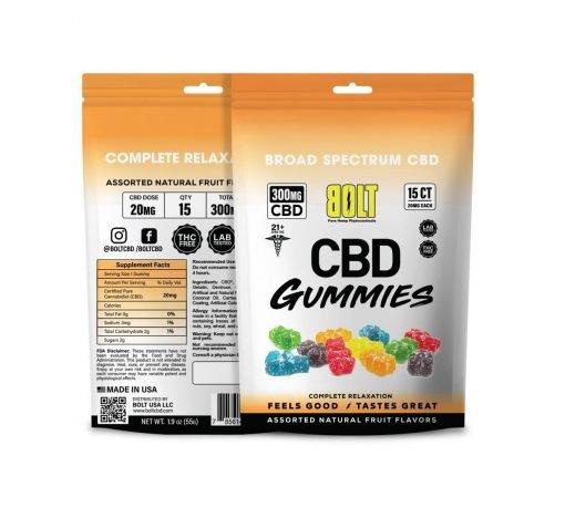 Bolt CBD - Gummy Bag – 300mg