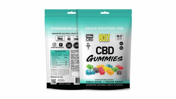 Bolt CBD - Gummy Bag – 2000mg