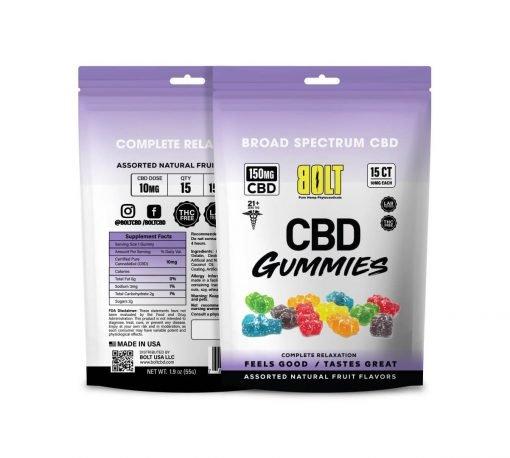 Bolt CBD - Gummy Bag – 150mg
