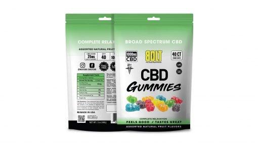 Bolt CBD - Gummy Bag – 1000mg