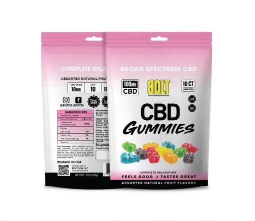 Bolt CBD - Gummy Bag – 100mg