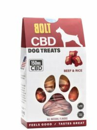 Bolt CBD - Dog Treats-Beef&Rice