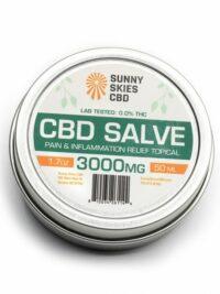 Sunny Skies CBD - CBD Salve 3000mg