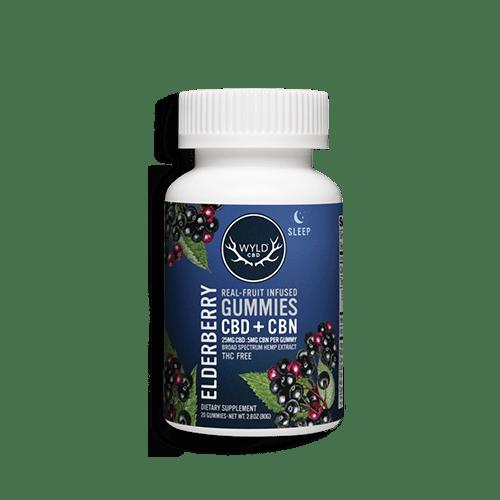 Wyld CBD-Elderberry Gummies