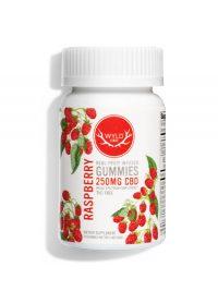 Wyld CBD-Real Fruit Gummies_Raspberry 250mg