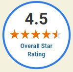 Overall star rating logo