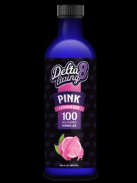 CBD Living-Delta-8 Lemonade_ Pink Lemonade