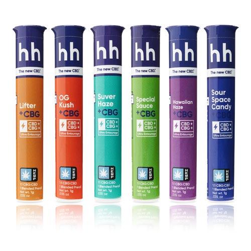 HHemp PRE-ROLL - CBG+CBD