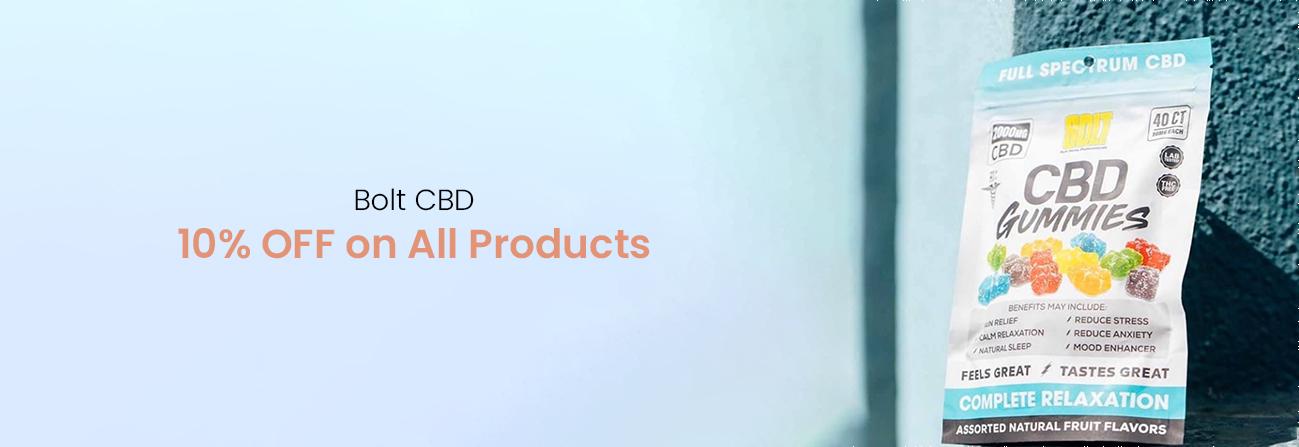 Bolt CBD Gummies image