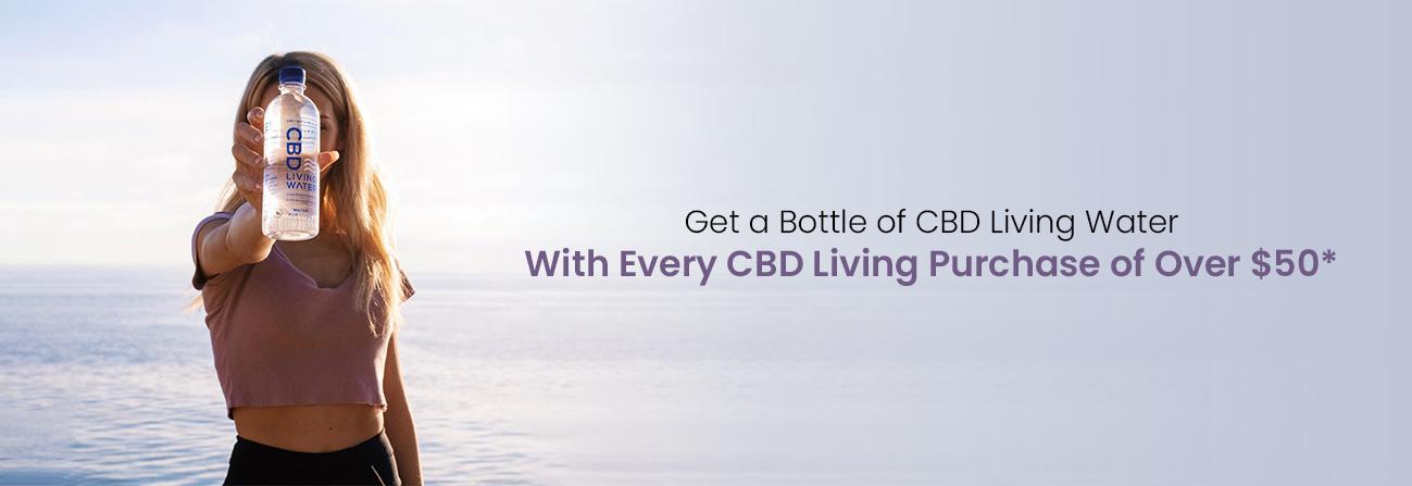 CBD Living water Image