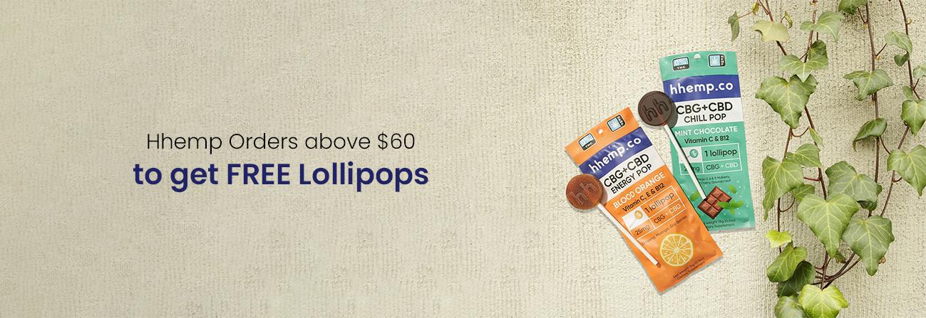 Hhemp free lollopops