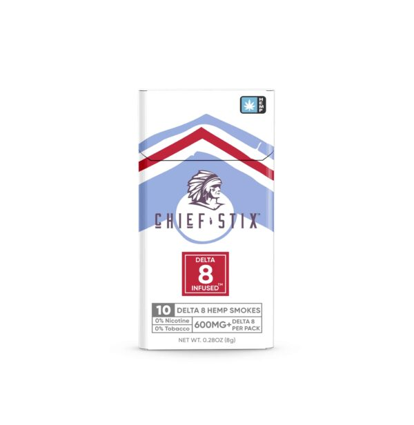 CHIEF STIX DELTA8 INFUSED™ HEMP SMOKES - 600mg 10ct PACK