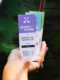 Green Roads CBD EO Roll on All-compressed
